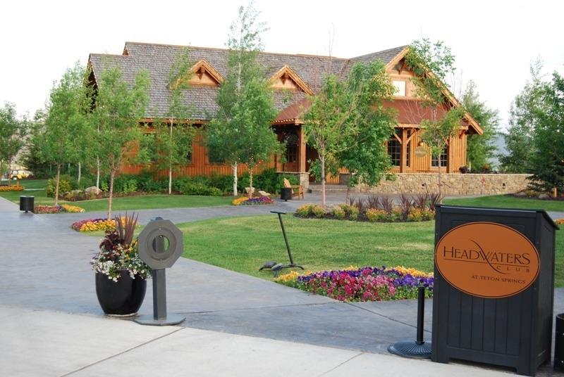 Teton Springs Resort Victor Idaho Golf Course Home